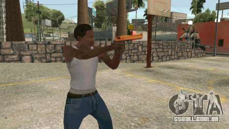 Orange Desert Eagle para GTA San Andreas terceira tela