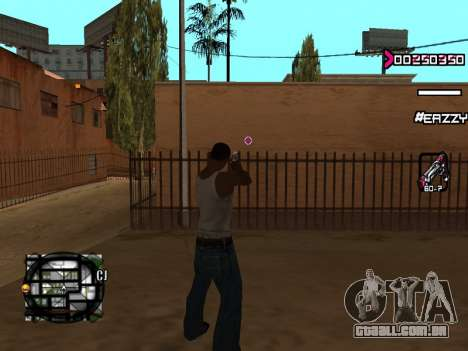 C-HUD WanTed para GTA San Andreas terceira tela
