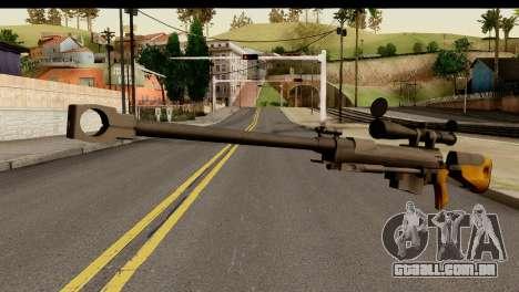 Sinons PGM Ultima Ratio Hecate II para GTA San Andreas
