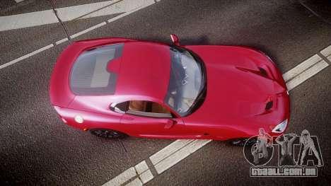 Dodge Viper SRT 2012 para GTA 4 vista direita