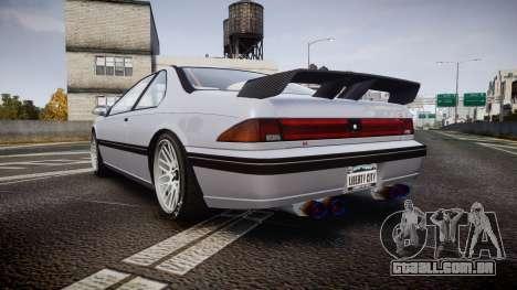 Vapid Fortune XTR para GTA 4 traseira esquerda vista