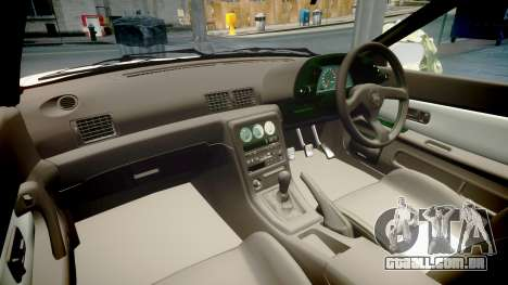 Nissan Skyline R32 GT-R 1993 para GTA 4 vista interior
