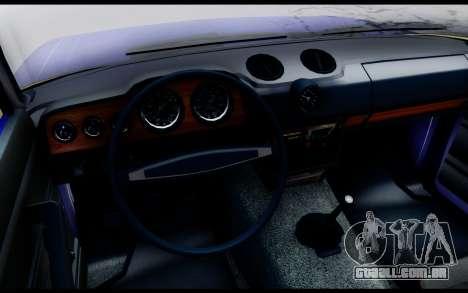 VAZ 2106 Escoamento para GTA San Andreas traseira esquerda vista
