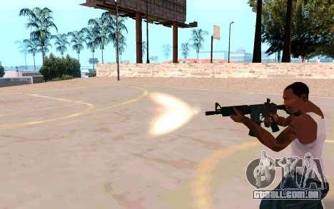 M4A1 (Dodgers) para GTA San Andreas quinto tela