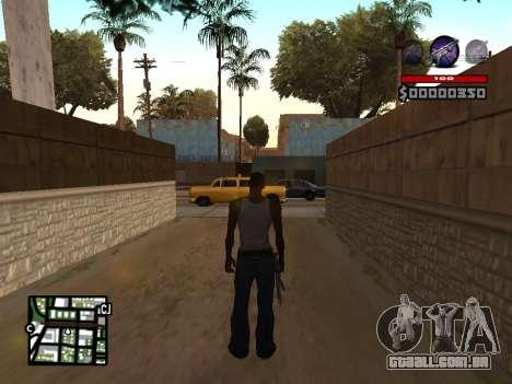 C-HUD by Granto para GTA San Andreas