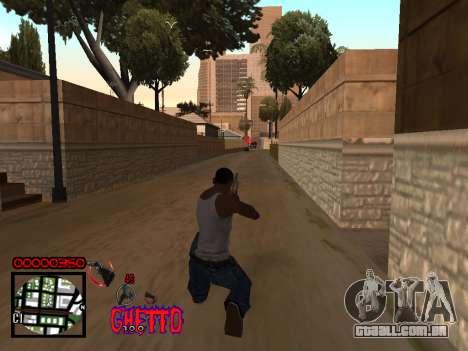 C-HUD by Jones para GTA San Andreas