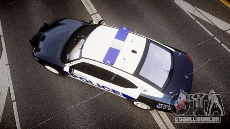 Dodge Charger 2006 Algonquin Police [ELS] para GTA 4 vista direita