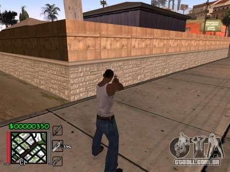 Classic C-HUD 3.4 by Niko para GTA San Andreas segunda tela
