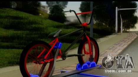 New Elegy Editons para GTA San Andreas traseira esquerda vista