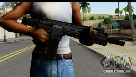 SCAR from from State of Decay para GTA San Andreas terceira tela