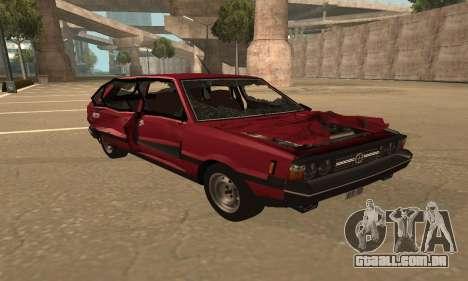 FSO Polonez 1500 para o motor de GTA San Andreas