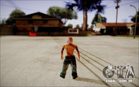 Ghetto Skin Pack para GTA San Andreas por diante tela