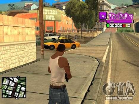 C-HUD Ballas by Inovator para GTA San Andreas segunda tela