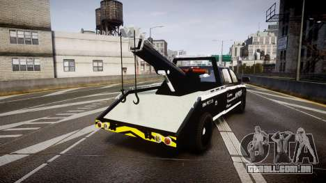 Dodge Ram 3500 NYPD [ELS] para GTA 4 traseira esquerda vista