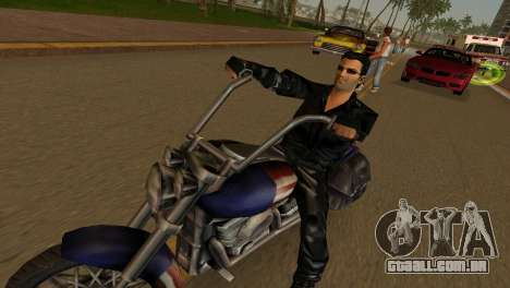 Tommi Black Skin para GTA Vice City