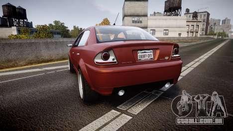 Declasse Premier Sport R para GTA 4 traseira esquerda vista