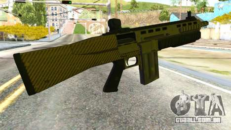 Assault Shotgun from GTA 5 para GTA San Andreas segunda tela