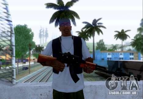 Akmn com CBE para GTA San Andreas