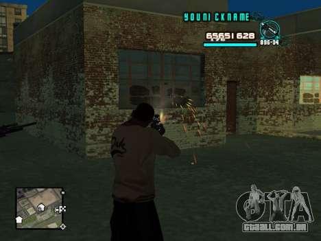 C-HUD Cosmos para GTA San Andreas terceira tela
