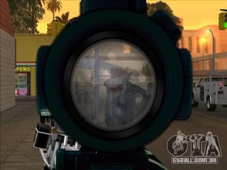 Sniper Skope Mod FIX para GTA San Andreas terceira tela