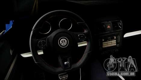 Volkswagen Jetta 2015 para GTA San Andreas vista direita