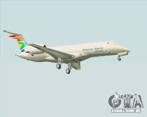 Embraer ERJ-135 South African Airlink para GTA San Andreas vista direita