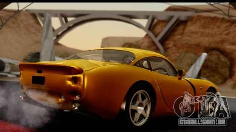 TVR Tuscan S 2001 para GTA San Andreas esquerda vista