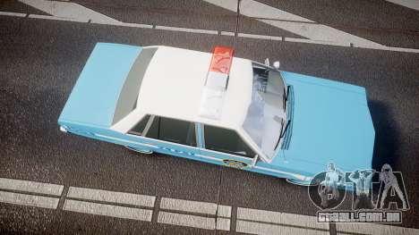 Ford Fairmont 1978 Police v1.1 para GTA 4 vista direita