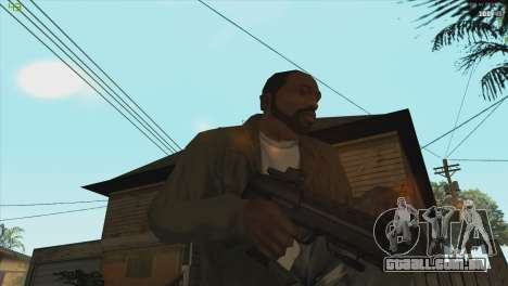 MP7 from Killing floor para GTA San Andreas