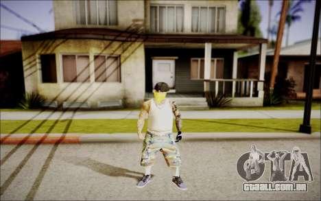 Ghetto Skin Pack para GTA San Andreas