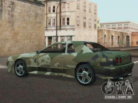 Elegy GTR para GTA San Andreas vista direita