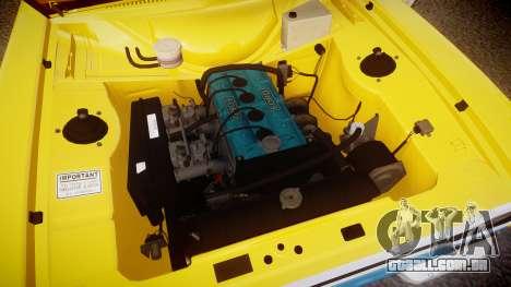 Ford Escort RS1600 PJ93 para GTA 4 vista de volta