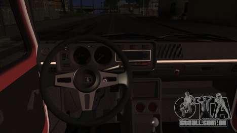 Volkswagen Golf Mk1 GTD para GTA San Andreas vista direita