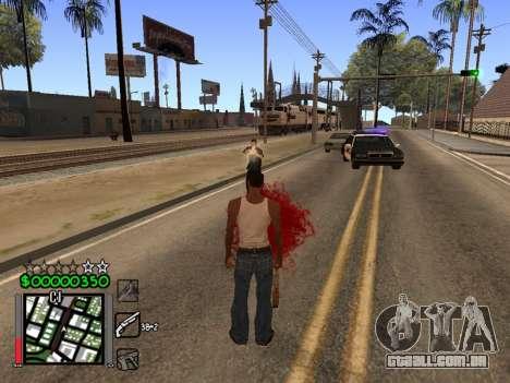 Classic C-HUD 3.4 by Niko para GTA San Andreas terceira tela
