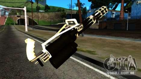 New Minigun para GTA San Andreas segunda tela