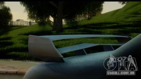 New Elegy Editons para GTA San Andreas vista direita