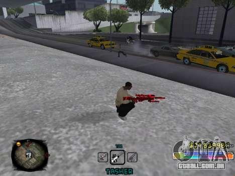 C-HUD Color Tasher para GTA San Andreas