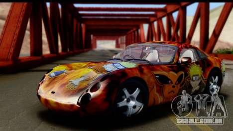 TVR Tuscan S 2001 para GTA San Andreas vista inferior