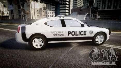 Dodge Charger 2006 Sheriff Dukes [ELS] para GTA 4 esquerda vista