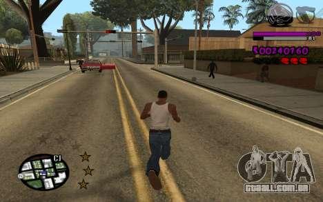 C-HUD by LoMoKo para GTA San Andreas segunda tela