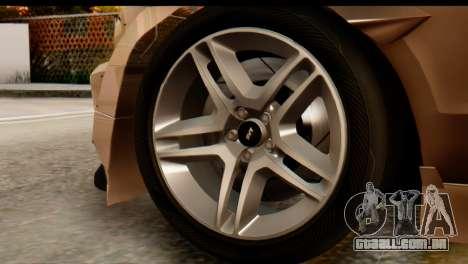 Ford Shelby GT500 RocketBunny para GTA San Andreas vista direita