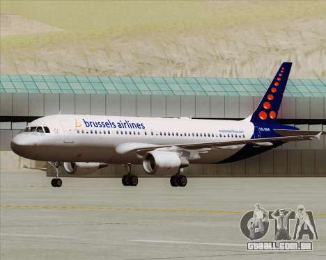 Airbus A320-200 Brussels Airlines para GTA San Andreas