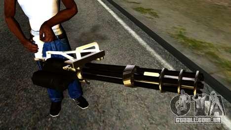 New Minigun para GTA San Andreas terceira tela