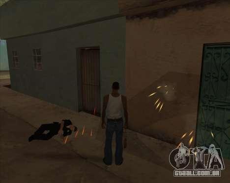 Configurações De Ragdoll para GTA San Andreas por diante tela