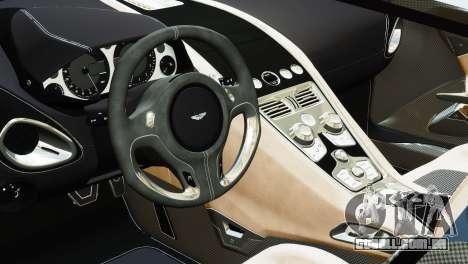 Aston Martin One-77 2010 [EPM] para GTA 4 traseira esquerda vista