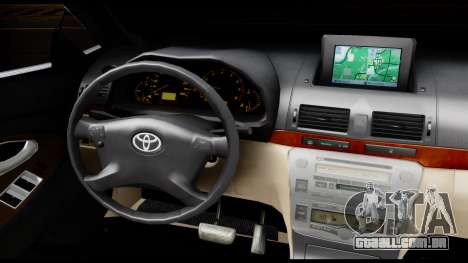 Toyota Camry 2013 para GTA San Andreas vista interior
