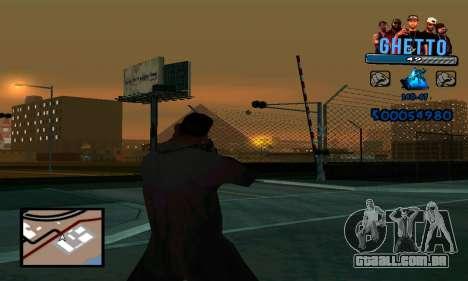 C-HUD Gangster para GTA San Andreas terceira tela