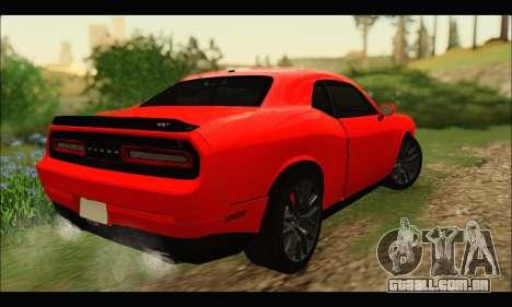 Dodge Challenger SRT HELLCAT 2015 para GTA San Andreas