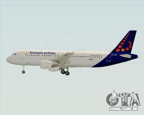 Airbus A320-200 Brussels Airlines para o motor de GTA San Andreas