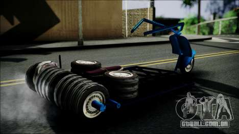 Vespa Gembel Extreme para GTA San Andreas traseira esquerda vista
